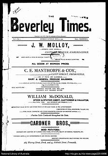 newspaper in Western Australia, active 1905 - 1977