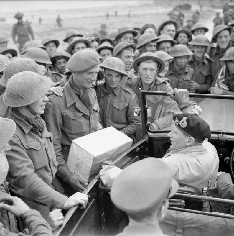 The British Army in Normandy 1944 B6934