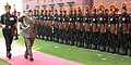 The Cdr Polish Land Forces, Lt. Gen Zbigniew Glowienka inspecting the Guard of Honour, in New Delhi on November 22, 2010.jpg