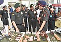 """The Chief of Army Staff, General Bipin Rawat looking at the exhibits for the disabled soldiers, at the seminar on """"Physical and Mental Issues of Disabled Soldiers"""", in New Delhi on June 20, 2018.JPG"""