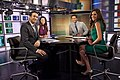 The Cycle (TV program), Ari Melber, Krystal Ball, Touré, Abby Huntsman-2013.jpg