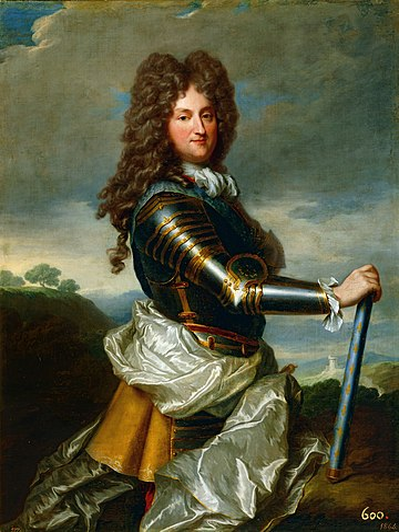El regente Felipe de Orleáns, por Jean-Baptiste Santerre.