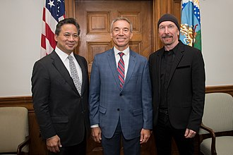 The Edge - The Edge with US Deputy Secretary of Agriculture Stephen Censky and Agiogenesis Foundation co-founder Dr. William W. Li
