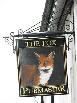 The Fox, pub sign - geograph.org.uk - 496241