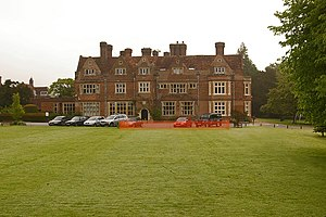Grade II* listed buildings in Tandridge (district) - Image: The Hawthorns School geograph.org.uk 1564414