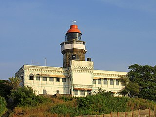 Khanderi island in India