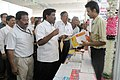 The MLA, Kattumannarkovil, Shri D. Ravikumar visiting stalls at the Bharat Nirman Public Information Campaign, organised by PIB Chennai, at Chidambaram in Cuddalore Tamil Nadu on September 05, 2009.jpg