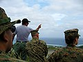 The Marines Wearing the woodland Marpat in Guam.jpg