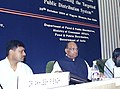 The Minister of Agriculture, Consumer Affairs, Food and Public Distribution Shri Sharad Pawar addressing a Conference of State Food Ministers on strengthening of Public Distribution System in New Delhi on October 28, 2004.jpg