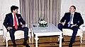 The Minister of State for Commerce and Industry, Shri Jyotiraditya Scindia calls on the President of the Republic of Azerbaijan, Mr. Ilham Heydaroglu Aliyev, at Baku on April 17, 2012.jpg