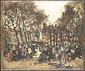 The Noordermarkt in Amsterdam by Joannes Barnardus Antonius Maria Westerwoudt Rijksmuseum Amsterdam SK-A-2282.jpg