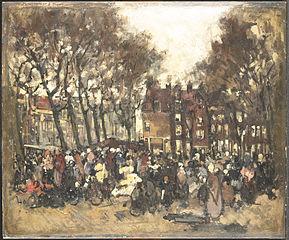 De Noordermarkt te Amsterdam