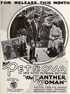 <i>The Panther Woman</i> 1918 film by Ralph Ince