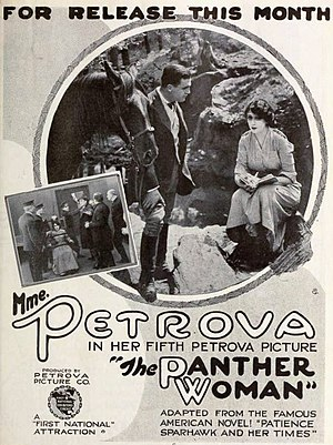The Panther Woman - Advertisement