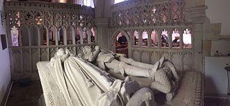 Aldbury - The Pendley Chapel inside the Parish Church