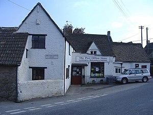 Luckington - Image: The Post Office, Luckington