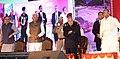 The President, Shri Pranab Mukherjee inaugurating the Adamya Chetana-Midday Meal Kitchen for over one lakh children, at Bengaluru.jpg