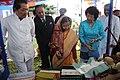 The President, Smt. Pratibha Devisingh Patil visiting the Handloom & Handicrafts exhibition at Aizawl, Mizoram on September 23, 2010.jpg