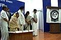 The President, Smt. Pratibha Patil unveiling of RGNIYD logo & launching of the websites at Rajiv Gandhi National Institute of Youth Development in Sriperumbudur, Tamil Nadu on Sep. 01, 2007.jpg