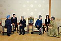 The Prime Minister, Dr. Manmohan Singh and his wife Smt. Gursharan Kaur with His Majesty the Emperor Akihito and Her Majesty the Empress Michiko of Japan, in Tokyo, on October 22, 2008.jpg