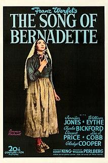 <i>The Song of Bernadette</i> (film) 1943 film by Henry King