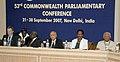 The Speaker, Lok Sabha, Shri Somnath Chatterjee at the 53rd Commonwealth Parliamentary Conference, in New Delhi on September 22, 2007.jpg