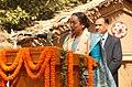 The Speaker, Lok Sabha, Smt. Meira Kumar addressing at the inauguration of the 26th Surajkund Crafts Mela, at Surajkund, Faridabad on February 01, 2012.jpg