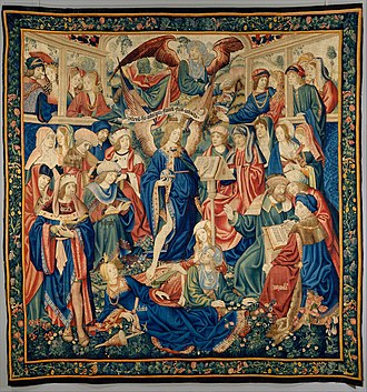 The Triumph of Fame, probably Brussels, 1500s The Triumph of Fame MET DT4292.jpg