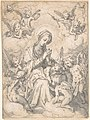 The Virgin and Child Surrounded by Little Angels in the Clouds MET DP801487.jpg