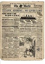 naufrage du titanic � wikip233dia
