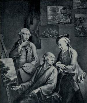 George Smith (artist) - The Brothers Smith of Chichester (from a mezzotint by W. Pether after W. Pether)
