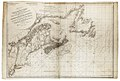 The coast of Nova Scotia, New England, New York, Jersey, the Gulph and River of St. Lawrence. The Islands of Newfoundland, Cape Breton, St. John, Antecosty, Sable &c. and soundings thereof RMG K0424.jpg