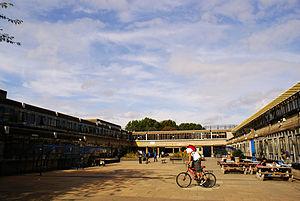 Thomas Tallis School - The former Thomas Tallis School concourse.