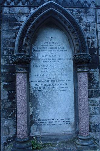 Daniel Macnee - The grave of Daniel Macnee, Dean Cemetery