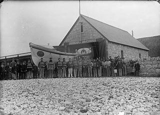 The life boat, Llanddulas (Dinb)