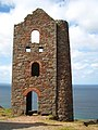 The stamps and whim engine house at Wheal Coates - geograph.org.uk - 1476958.jpg