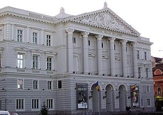 Crișana - Image: Theater Arad