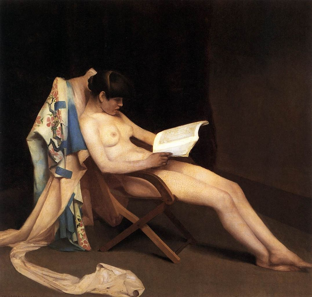 Reading girl (La fille qui lit) de Theodor Roussel à la Tate Britain de Londres