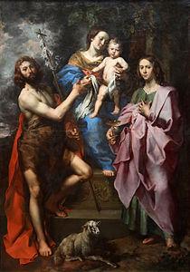 Theodor van Loon - La vierge et l'enfant entre Saint Jean-Baptiste et Saint Jean l'Évangéliste.jpg