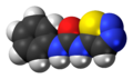 Thidiazuron molecule spacefill.png