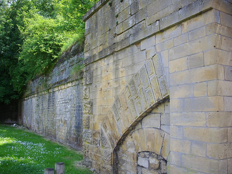 Ramparts of Thionville (Moselle, France)