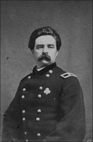 1st Delaware Infantry Regiment - Brigadier Thomas A. Smyth, commander of the 1st Delaware 1863-1864