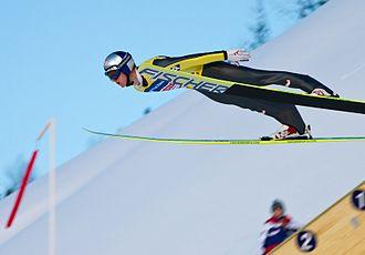 Thomas Morgenstern - Ski flying world cup in Vikersund 2011