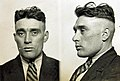 Thomas Orange in 1931, This mug shot comes from a police identification book believed to be from the 1930s. It was originally found in a junk shop by a member of the public and subsequently donated to Tyne & Wear (7789681396) (cropped).jpg