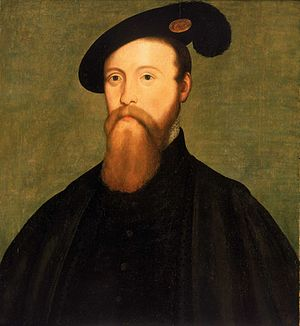 Nicolas Denisot - Thomas Seymour, 1st Baron Seymour of Sudeley by Nicolas Denisot, National Maritime Museum collection, between 1545-1549