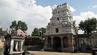 Thiruvarur - Thoovanayanar Thoovainathar Temple, a prominent temple in the town