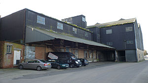 Mistley - Image: Thorn Quay Warehouse, Mistley, UK (River Side)