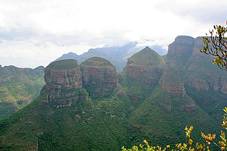 Blyde River Canyon Nature Reserve - The three rondavels