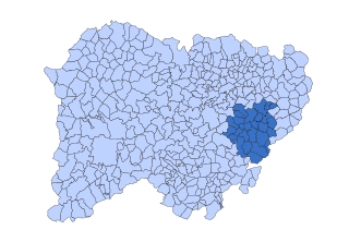 Tierra de Alba, Salamanca Comarca in Castile and León, Spain