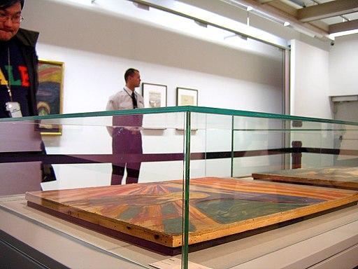 Tight security over Munch's 'Skrik'